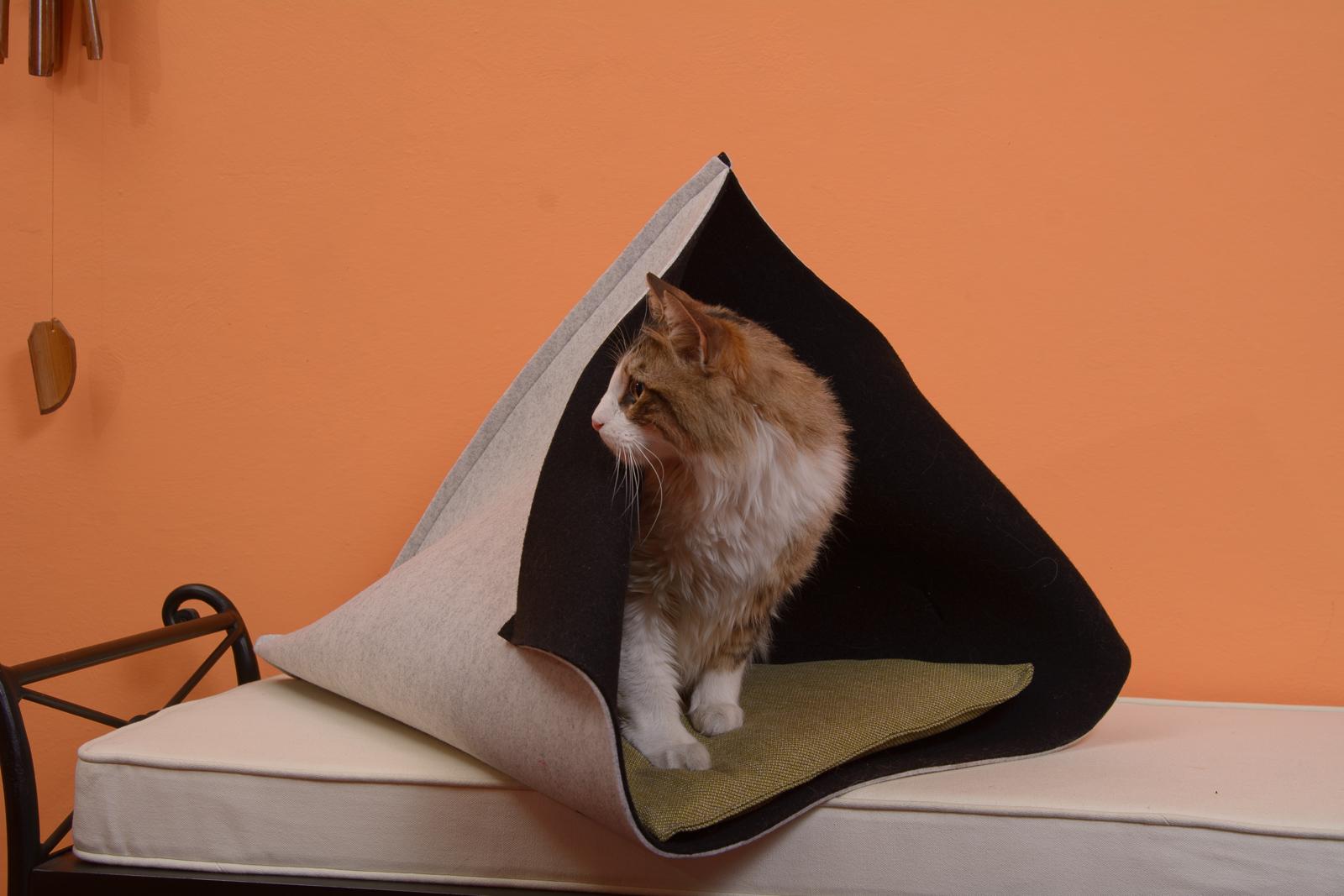 Repos Miau - cucce per gatti in feltro