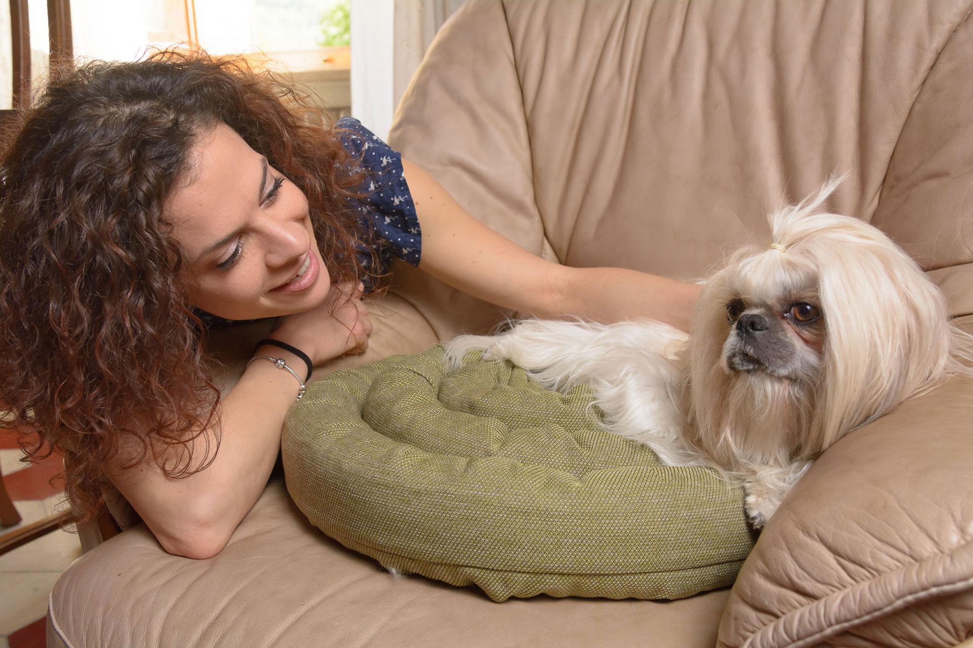 Cuscino sfoderabile per cani e gatti